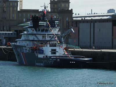ABEILLE LIBERTE Emergency Tow Vessel Cherbourg PDM 14-07-2014 16-01-05