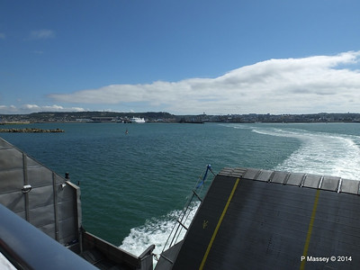Departing Cherbourg aboard NORMANDIE EXPRESS PDM 14-07-2014 16-04-21