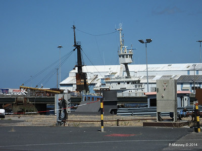 MARGINELLA Abandoned Tuna Trawler since 2007 after fire Cherbourg 2007 14-07-2014 15-06-49