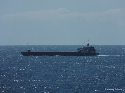 Vessels Spotted Mid English Channel