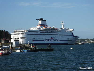 BRETAGNE at St Malo 11 Aug 2014