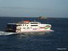 CONDOR RAPIDE Departing St Malo PDM 11-08-2014 07-00-11