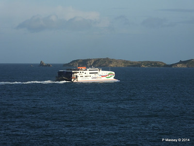 CONDOR RAPIDE Departing St Malo PDM 11-08-2014 07-01-51