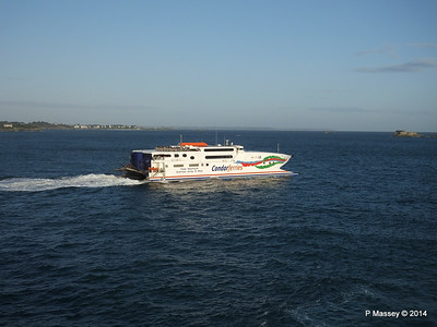 CONDOR RAPIDE Departing St Malo PDM 11-08-2014 06-59-59