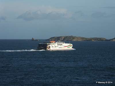 CONDOR RAPIDE Departing St Malo PDM 11-08-2014 07-01-49