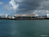 EN AVANT 20 Sarens Barge with 3 Bullet Tanks Cherbourg PDM 11-08-2014 14-27-15
