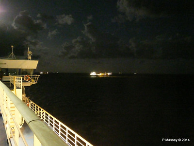 BRO ANNA St Helens Anchorage BRETAGNE at Night PDM 10-08-2014 21-58-01