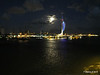 Portsmouth with Spinnaker Tower at Night from BRETAGNE PDM 10-08-2014 21-34-52