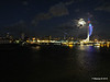 Portsmouth with Spinnaker Tower at Night from BRETAGNE PDM 10-08-2014 21-35-04