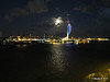 Portsmouth with Spinnaker Tower at Night from BRETAGNE PDM 10-08-2014 21-34-057