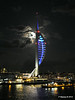 Spinnaker Tower at Night from BRETAGNE PDM 10-08-2014 21-35-12