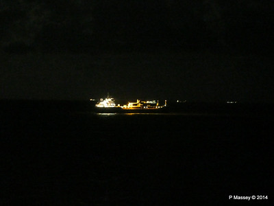 BRO ANNA St Helens Anchorage at Night PDM 10-08-2014 21-58-09