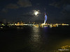 Portsmouth with Spinnaker Tower at Night from BRETAGNE PDM 10-08-2014 21-34-47