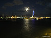 Portsmouth with Spinnaker Tower at Night from BRETAGNE PDM 10-08-2014 21-34-050
