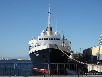 FUNCHAL at Gibraltar 27 Apr 2014