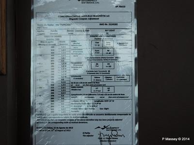mv FUNCHAL Magnetic Compass Adjustment Bridge PDM 25-04-2014 08-44-04