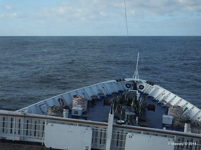 mv FUNCHAL Bow View from Bridge PDM 25-04-2014 08-39-45