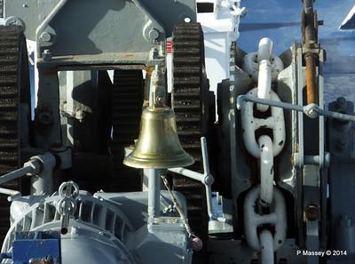 mv FUNCHAL Bell from Bridge PDM 25-04-2014 08-40-36