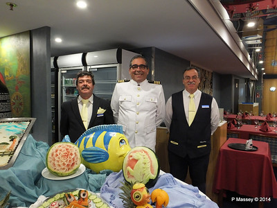 Captain Antonio Morais Buffet Magnifique mv FUNCHAL PDM 28-04-2014 23-14-21