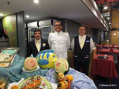 Captain Antonio Morais Buffet Magnifique mv FUNCHAL PDM 28-04-2014 23-14-17