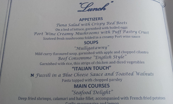 Lunch Menu Lisboa Restaurant mv FUNCHAL phone 22-04-2014 13-13-37 37