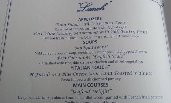 Lunch Menu Lisboa Restaurant mv FUNCHAL phone 22-04-2014 13-13-37 37
