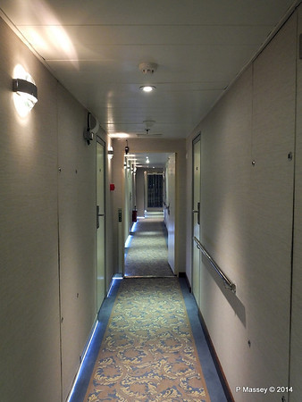 mv FUNCHAL Hallway Port Looking Fwd Azores Deck PDM 29-04-2014 18-16-30