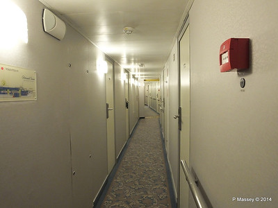 mv FUNCHAL Estoril Deck Stb Looking Aft Hallway PDM 29-04-2014 18-23-33