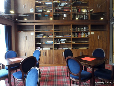 mv FUNCHAL Library Card Room Promenade Deck port PDM 24-04-2014 16-45-30