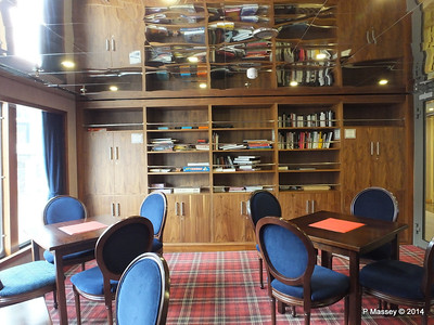 mv FUNCHAL Library Card Room Promenade Deck port PDM 24-04-2014 16-46-10
