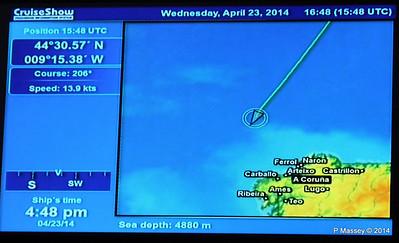 mv FUNCHAL Cabin Voyage Info Sea Depth PDM 23-04-2014 16-50-30