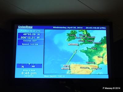 mv FUNCHAL Cabin Voyage Info Sea Depth PDM 30-04-2014 20-47-45