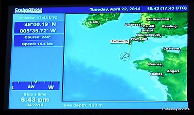 mv FUNCHAL Cabin Voyage Info Sea Depth PDM 22-04-2014 18-45-42