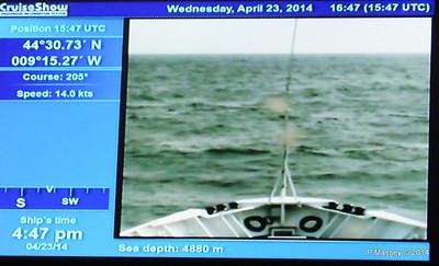 mv FUNCHAL Cabin Voyage Info Sea Depth PDM 23-04-2014 16-49-46