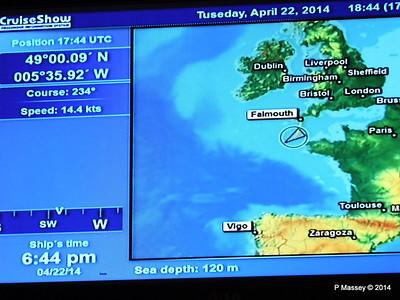 mv FUNCHAL Cabin Voyage Info Sea Depth PDM 22-04-2014 18-46-24