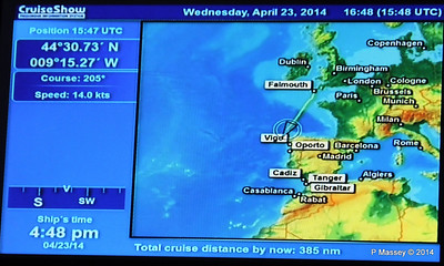 mv FUNCHAL Cabin Voyage Info Cruise Distance PDM 23-04-2014 16-50-00