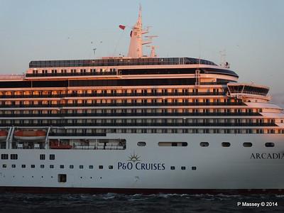 ARCADIA Arriving Gibraltar PDM 27-04-2014 06-38-57