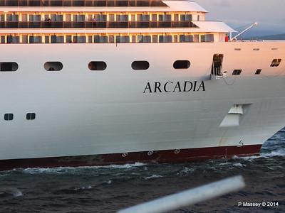 ARCADIA Arriving Gibraltar PDM 27-04-2014 06-39-34