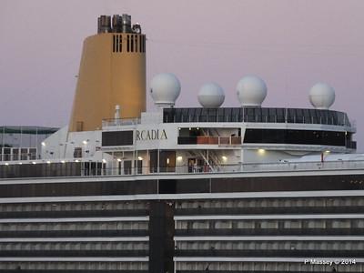 ARCADIA Approaching Gibraltar PDM 27-04-2014 06-34-49