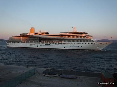 ARCADIA Arriving Gibraltar PDM 27-04-2014 06-38-45