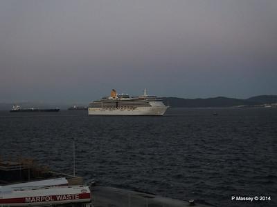 ARCADIA Approaching Gibraltar PDM 27-04-2014 06-28-14