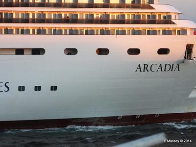 ARCADIA Arriving Gibraltar PDM 27-04-2014 06-39-40