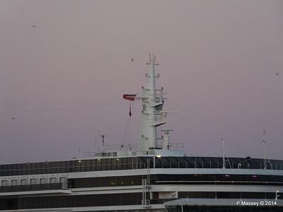 ARCADIA Approaching Gibraltar PDM 27-04-2014 06-34-45