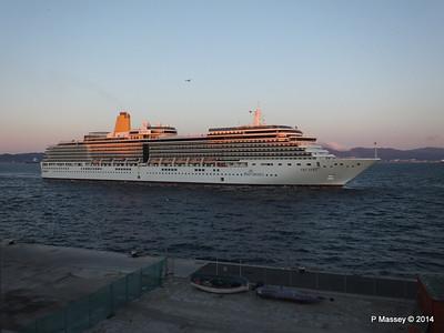 ARCADIA Arriving Gibraltar PDM 27-04-2014 06-38-22
