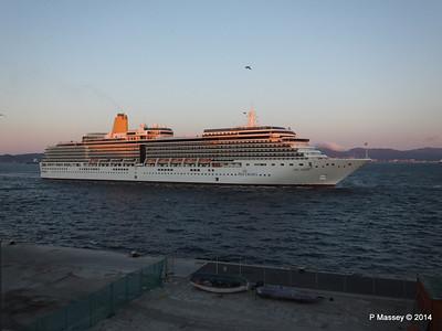 ARCADIA Arriving Gibraltar PDM 27-04-2014 06-38-20