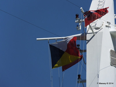 ARCADIA Mast Flags Gibraltar PDM 27-04-2014 11-07-57