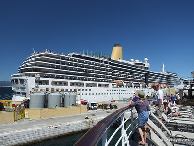 ARCADIA from FUNCHAL Gibraltar PDM 27-04-2014 11-39-16