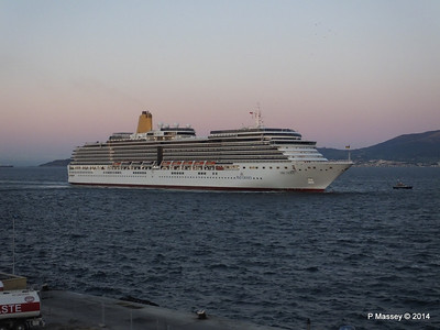 ARCADIA Approaching Gibraltar PDM 27-04-2014 06-35-47