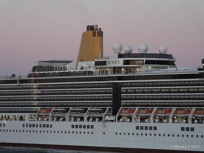 ARCADIA Approaching Gibraltar PDM 27-04-2014 06-36-05