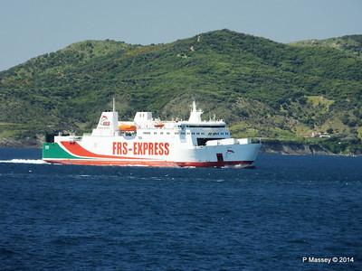 Algeciras Ferries Passing 27 Apr 2014